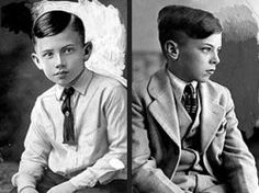 Walter Collins,9, disappeared from his Los Angeles home in 1928. His mother Christine Collins desperately tried to search for him until she died in 1964 without ever knowing her son's fate. Walter was never found. His disappearance became partly inspirational in Clint Eastwood's 2008 movie Changeling.