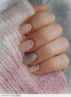 Blue with the silver instead of the pink please! Nail Design, Nail Art, Nail Salon, Irvine, Newport Beach