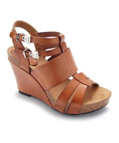 Take a look at this Brown Ankita Wedge on zulily today!