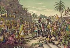 In the Spanish conquistador Hernan Cortes arrived on the outskirts of Tenochtitlan, the capital of the mighty Aztec Empire. It has been said that to the Aztec emperor, Montezuma II, Cortes and h Montezuma, Moctezuma Ii, Conquistador, Aztec Society, Christoph Kolumbus, Aztec Emperor, Mesoamerican, 16th Century, Mexico
