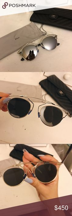 5f6fc26a3a54b Christian Dior So Real Super cute authentic Christian Dior sunglasses. In  very good condition.