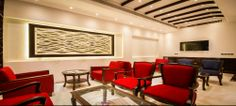 Lobby Area of Hotel Grand Godwin New Delhi  .Its a Free WIFI Zone.