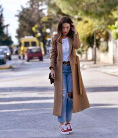 Athens, Duster Coat, Street Style, Cool Stuff, Jackets, Instagram, Fashion, Down Jackets, Moda