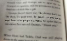 Beautiful Line from a very well written book - If I Stay by Gayle Forman