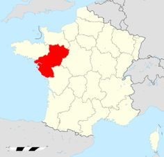 Localisation de Pays de la Loire