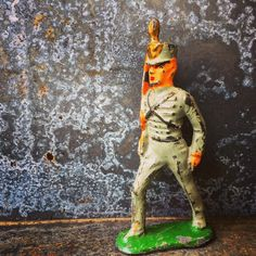 A personal favorite from my Etsy shop https://www.etsy.com/listing/510377253/lead-soildier-lead-figurine-soldier