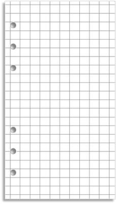 My Life All in One Place: Download and print grid paper for your Filofax