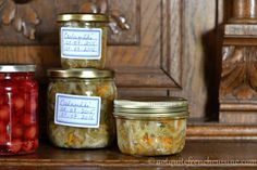 Csalamádé, a Hungarian summer pickle of mixed grated vegetables