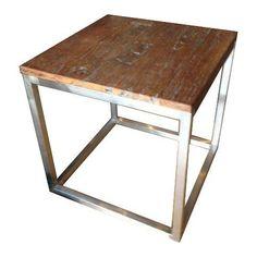 Lignum Side Table on Chairish.com
