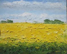 Telephone lines, Original Irish Oil Painting by Marie Armstrong O'Leary MAOL Art, Dublin , Ireland, Yellow Painting, fields of gold Telephone Line, Fields Of Gold, Irish Art, Yellow Painting, Canvas Board, Dublin Ireland, Yellow Flowers, Oil Paintings