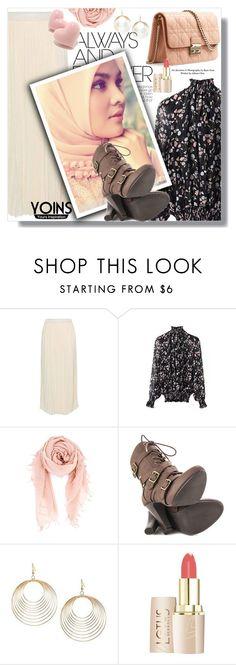 """Hijab"" by sans-moderation ❤ liked on Polyvore featuring moda, Christian Dior, Chan Luu, Mojo Moxy, hijab i yoins"