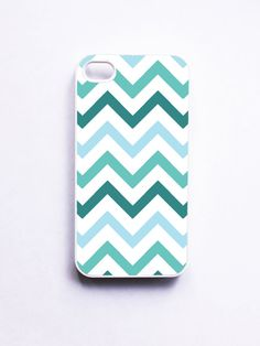 Teal Chevron iPhone Case for iPhone 4 and 4S...was this made exactly for ME? YES!