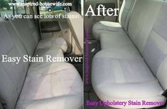 Easy Upholstery Stain Remover