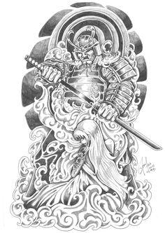 Image detail for -Geisha Samurai Tattoo Designs
