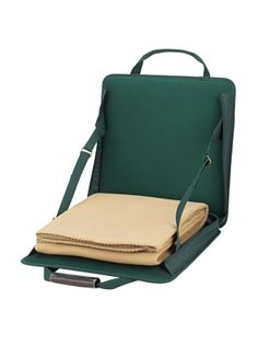 50% OFF Picnic At Ascot Stadium Seat Green with Tan Blanket