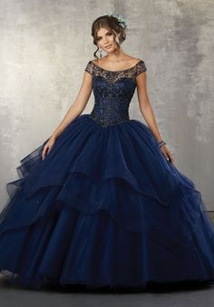 d0572a0ef70 Off the Shoulder Quinceanera Dress by Mori Lee Vizcaya 89172
