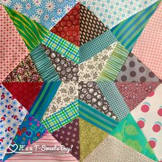I have really been enjoying this monthly QAL by Jen Kingwell.   I was lucky enough to find a quilt shop with a few open spaces  back in February.  I'm so glad I did.  This…