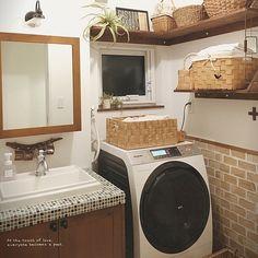 女性で、のウッドワンの洗面台/流木/かご収納/バス/トイレについてのインテリア実例を紹介。「流木ネタが多くてすみません(。 >艸<) コップ掛けに使ってみました。」(この写真は 2016-01-08 20:59:38 に共有されました)