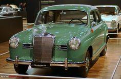 1958 Mercedes-Benz 180 D ponton