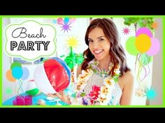 Amazing DIY Beach Party Ideas DIY Projects | Do It Yourself Projects and Crafts