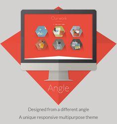 Angle Flat Responsive Bootstrap Wordpress Theme