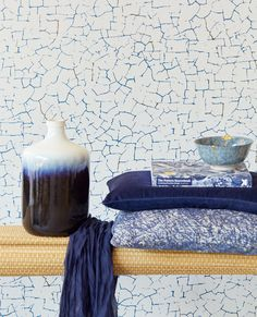 Designer Wallpaper Online Store for USA & Canada How To Hang Wallpaper, Print Wallpaper, Application Pattern, Cracked Paint, Photo Mural, Latest Colour, Wallpaper Online, Geometric Wallpaper, Original Wallpaper