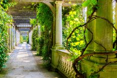 Photo about London, UK - June 2016 - Hampstead Pergola and Hill Garden in London, England. Kyoto Garden, Pergola, Garden On A Hill, Hampstead Heath, Hidden Garden, Richmond Park, Sloped Garden, Picnic Spot, Local Parks
