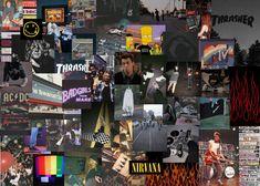 skater nirvana aesthetic wallpaper/background for your laptop/desktop 🤍 Rainy Wallpaper, Cute Laptop Wallpaper, Wallpaper Notebook, Emo Wallpaper, Gothic Wallpaper, Macbook Wallpaper, Aesthetic Desktop Wallpaper, Desktop Wallpapers, Mac Book