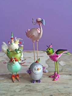 A flutter of wings can be heard this week at Patience Brewster as our #bird ornaments are on #sale!