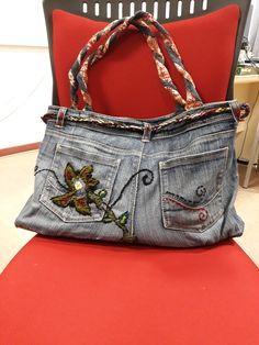 FANTASTIC hand made Jean Bag!! (for info, comments etc. you can send email at smartsaft@gmail.com). Thank you!!