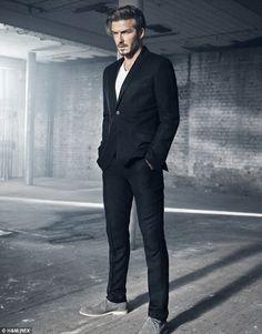 David Beckham H&M Ad