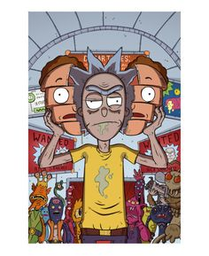 Rick and Morty Forever And Forever -http://stayteoftheart.tumblr.com/post/159229686335/rick-and-morty-forever-and-forever-100-years