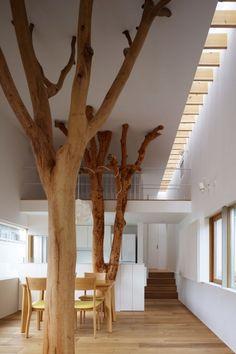 hang it there. nonconcept: Garden tree house, Kagawa, Japan by Hironaka Ogawa Associates.