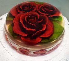 Cursos de gelatina artística. gourmet y floral en 3d