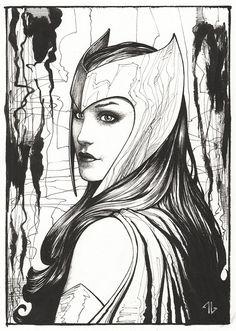 Wanda (Scarlet Witch) by Adi Granov