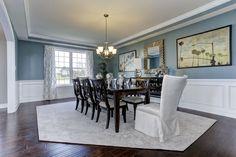 #formal dining room at Colvard Choice