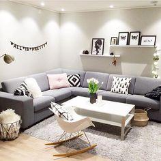 Buenos días!bienvenidos a la rutina! hoy os recuerdo una de las fotos con más likes de 2015!!  credit: @kariannemh #architecture #design #interior #interiordesign #diseño #decor #decoration #deco #decoracao #decoracion #inspo #inspiration #home #love #lifestyle #styling #livingroom #nordic #interior123 #interior4all #cheerupblog #alegrandoespacios