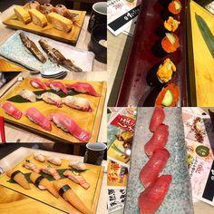 Managed to find some affordable sushi!  #sushi #temaki #oishii #lunch #japanesefood #japanese #ginzacorridor #お寿司 #手巻き #お昼 #ペコペコ