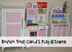 Refresh your kiddo's play kitchen