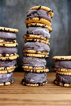 Ritz Cracker Ice Cream Sandwiches
