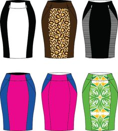 Introducing Wiggle skirt via IconicPatterns