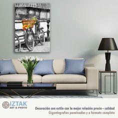 Los cuadros decorativos son una excelente opción como regalo Sofa, Couch, Furniture, Home Decor, Elephant Photography, Impressionism, Black And White, Paper Envelopes, Artists