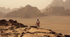 Picture from The Martian Movie about getting off Mars