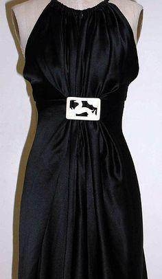 Evening dress (image 2)   Madeleine Vionnet   French   1936-37   Metropolitan Museum of Art   Accession Number: C.I.52.18.2