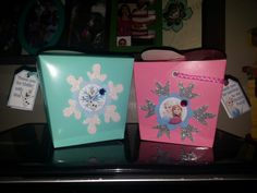 Frozen candy and gift decorated Boxes Olaf Anna and Elsa decoration