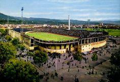 Estadio Comunale. Torino, años 60.