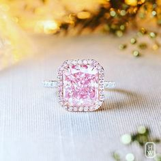 Rosamaria G Frangini | High Pink Jewellery | Harry Winston 5.99ct pink diamond