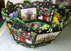 8-panel life-size basket