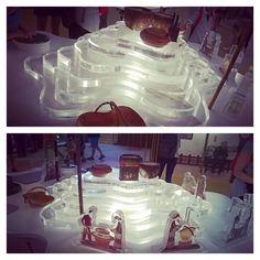 China Pavilion. Clay processing.