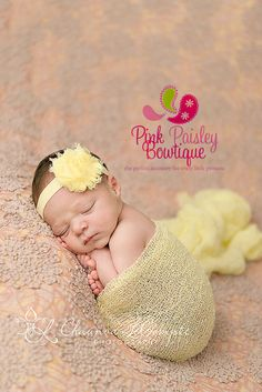 Set of 3 Baby headbands. Newborn headband set. Baby bows. Infant Headband. Flower Headband. Baby Hair Accessories via Etsy